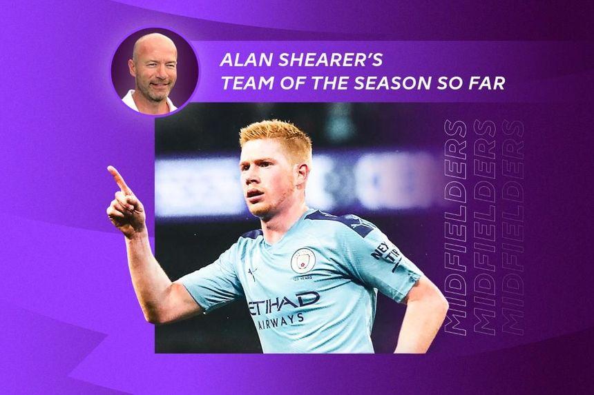 Alan Shearer's team of the season so far: Midfielders