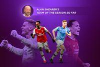 Alan Shearer's team of the season so far