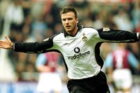 Classic match: Man Utd lifted by sublime Beckham chip