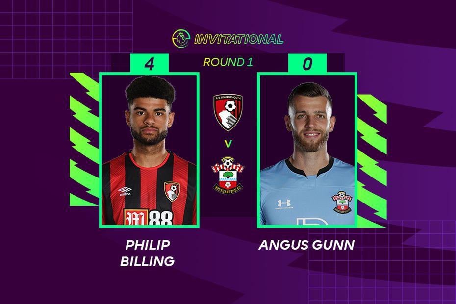 ePL Invitational: Philip Billing 4-0 Angus Gunn