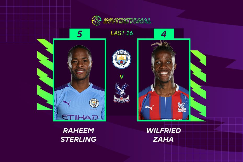 ePL Invitational: Raheem Sterling 5-4 Wilfried Zaha