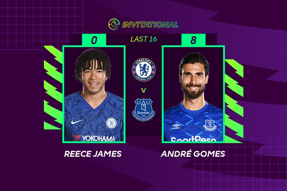 ePL Invitational: Reece James 0-8 Andre Gomes