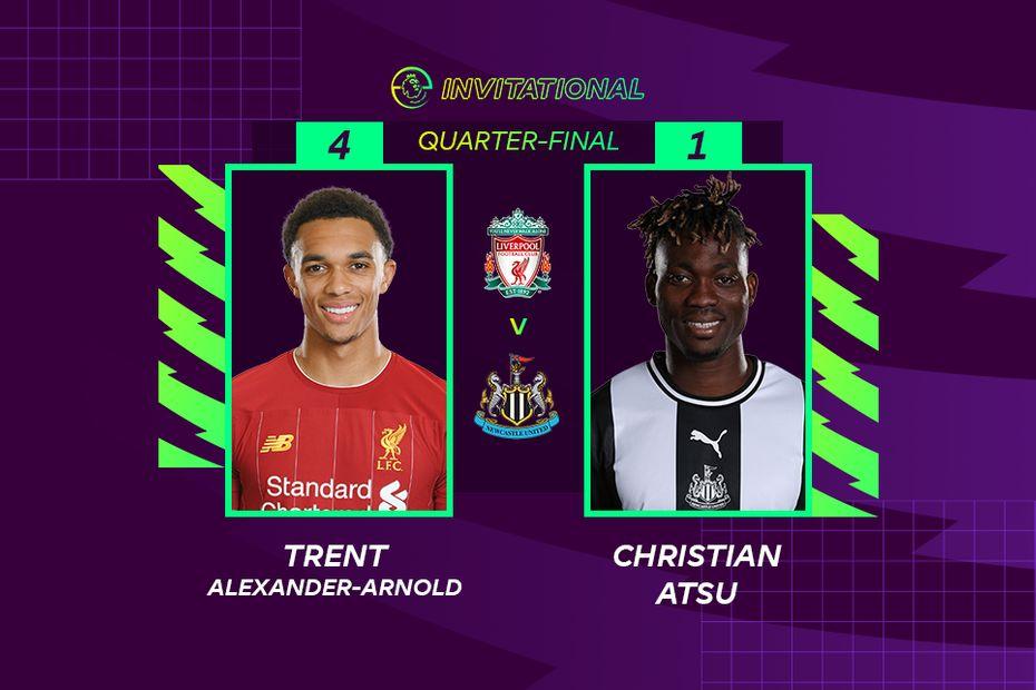 ePL Invitational - Trent Alexander-Arnold 4-1 Christian Atsu