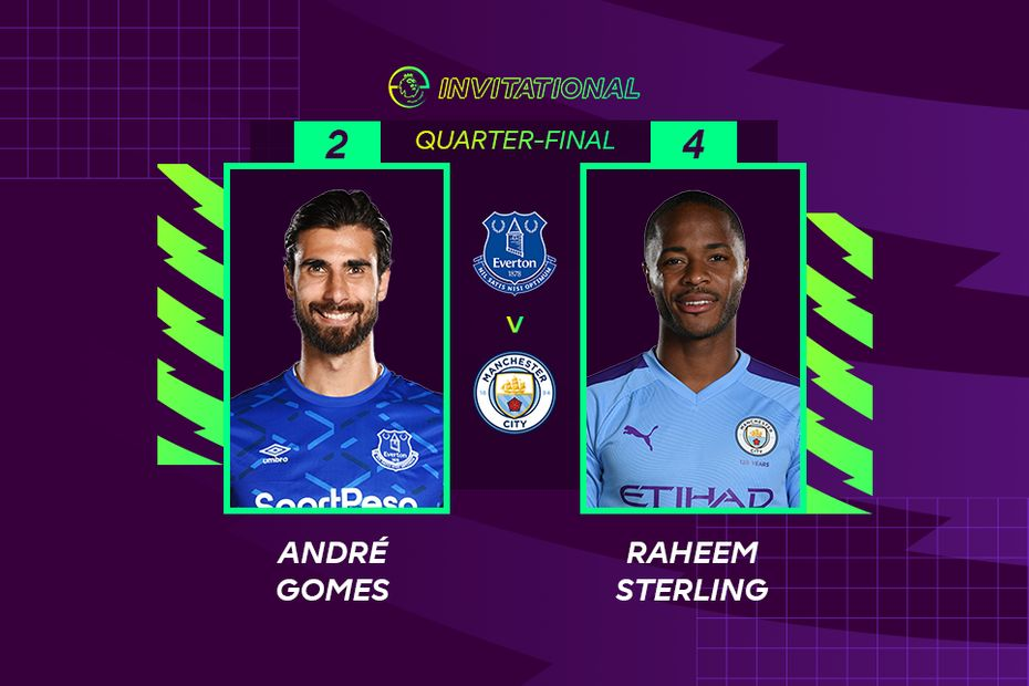 ePL Invitational: Andre Gomes 2-4 Raheem Sterling