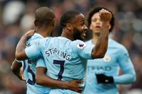 Flashback: Sterling assists inspire Man City at West Ham