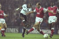 Goal of the day: Wanchope runs and strikes against Arsenal