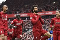 Watch Salah's sensational strike against Chelsea