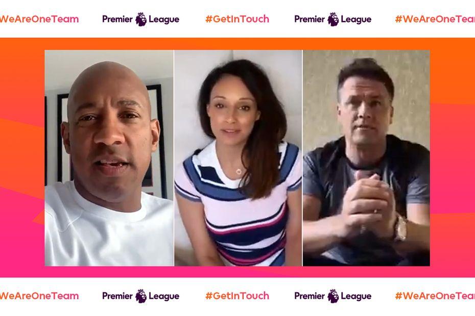 Get In Touch - Dion Dublin, Seema Jaswal, Michael Owen