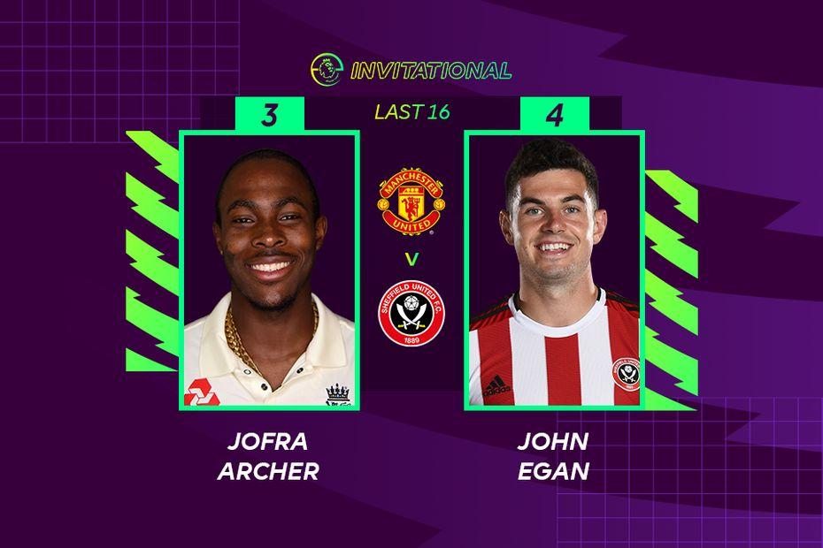 ePL Invitational: Jofra Archer 3-4 John Egan
