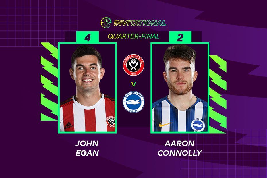 ePL Invitational: John Egan 4-2 Aaron Connolly
