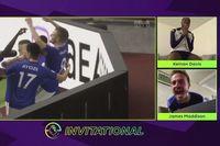 'Jamie Vardyyy!' Maddison reacts to golden goal semi-final win