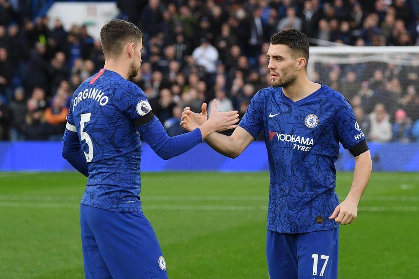 Jorginho and Kovacic, Chelsea