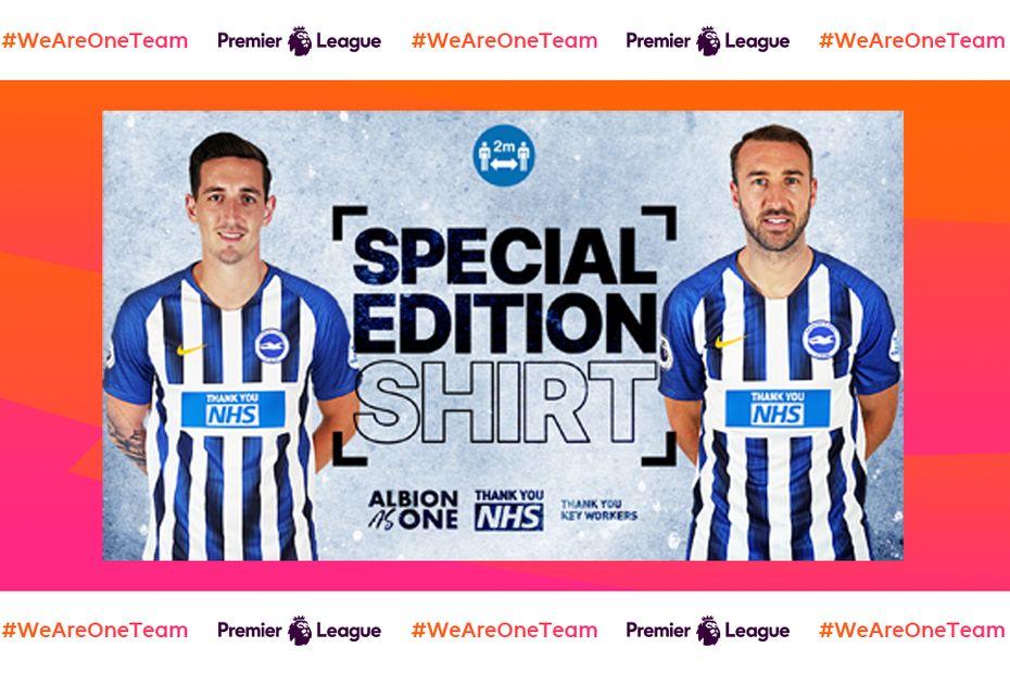 Brighton, shirts, NHS