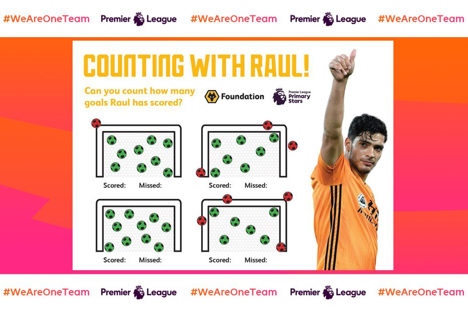 Counting with Raul Jimenez, PL Primary Stars