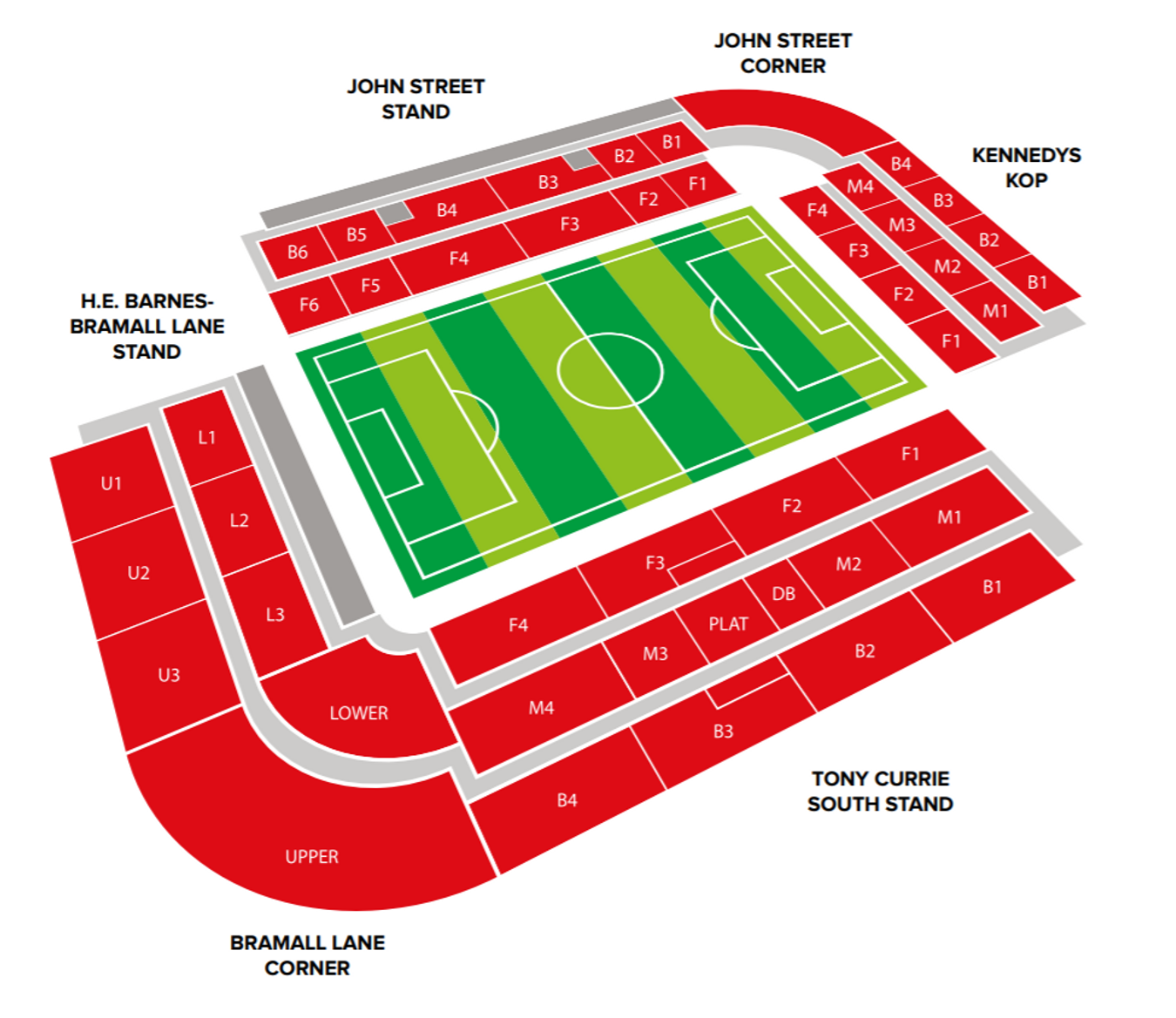 BL Stadium Map