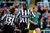 Classic match: Cole at the double for Newcastle