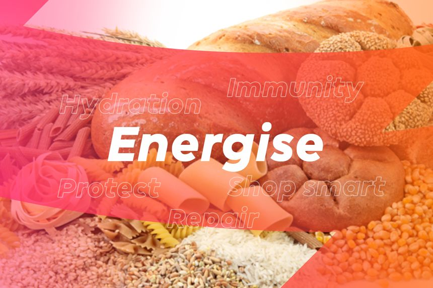 Nutrition Energise Cover