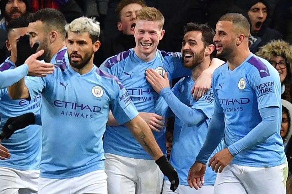Kevin De Bruyne, Sergio Aguero, Manchester City