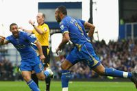 Goal of the day: Kaboul smashes in for Pompey