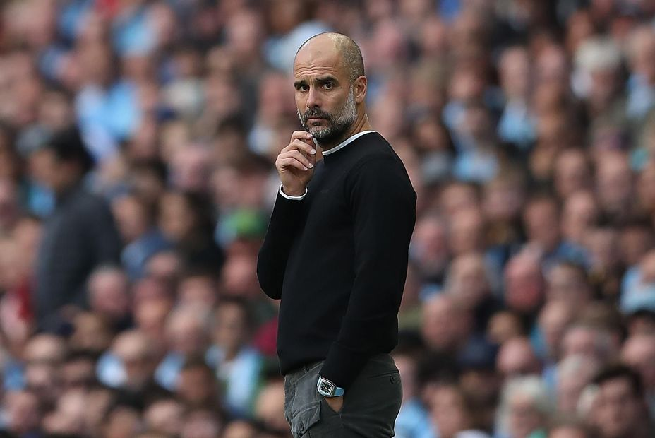 Pep Guardiola in thought, FPL