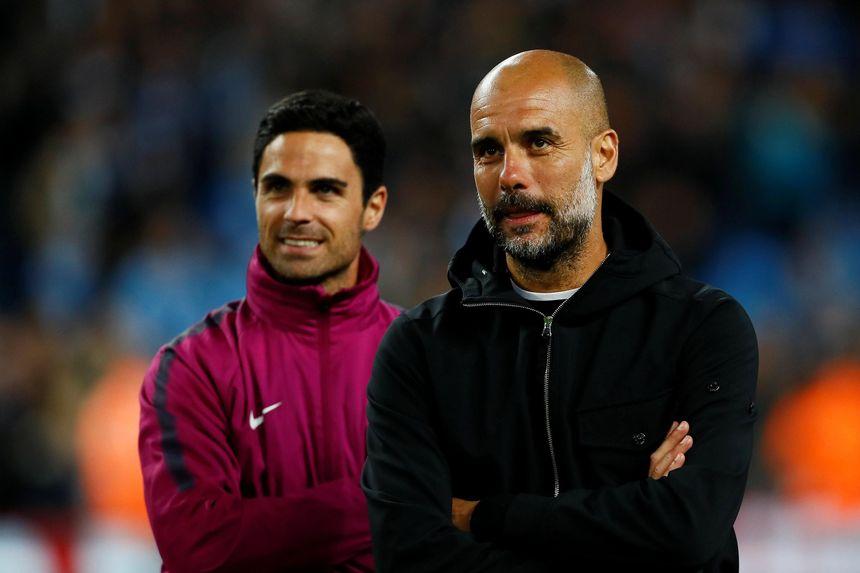 Arteta and Guardiola
