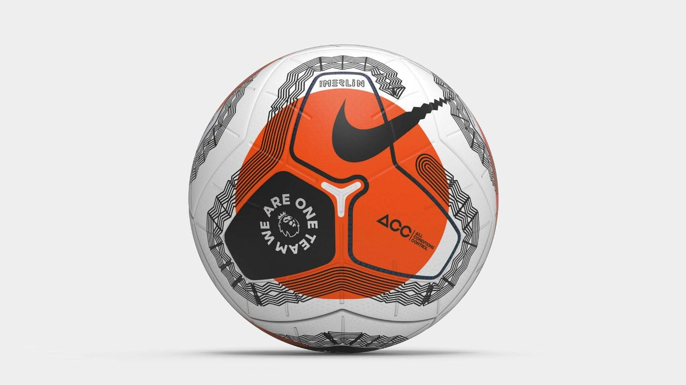 PL Restart Match Ball We Are One Team