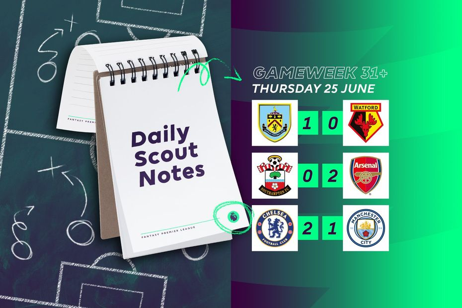 Daily Scout Notes, 25 June