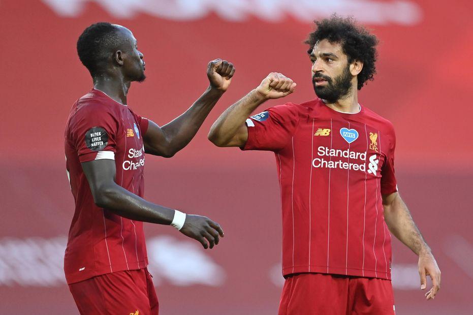 Mane and Salah, Liverpool