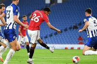 Neville: Greenwood's finishing is the best at Man Utd