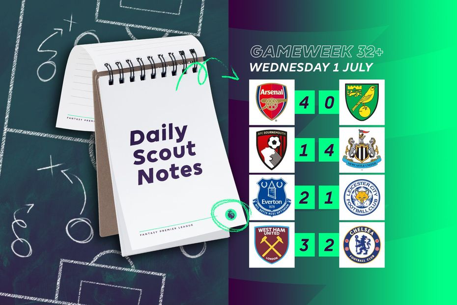 The Scout Daily Notes, 1 July