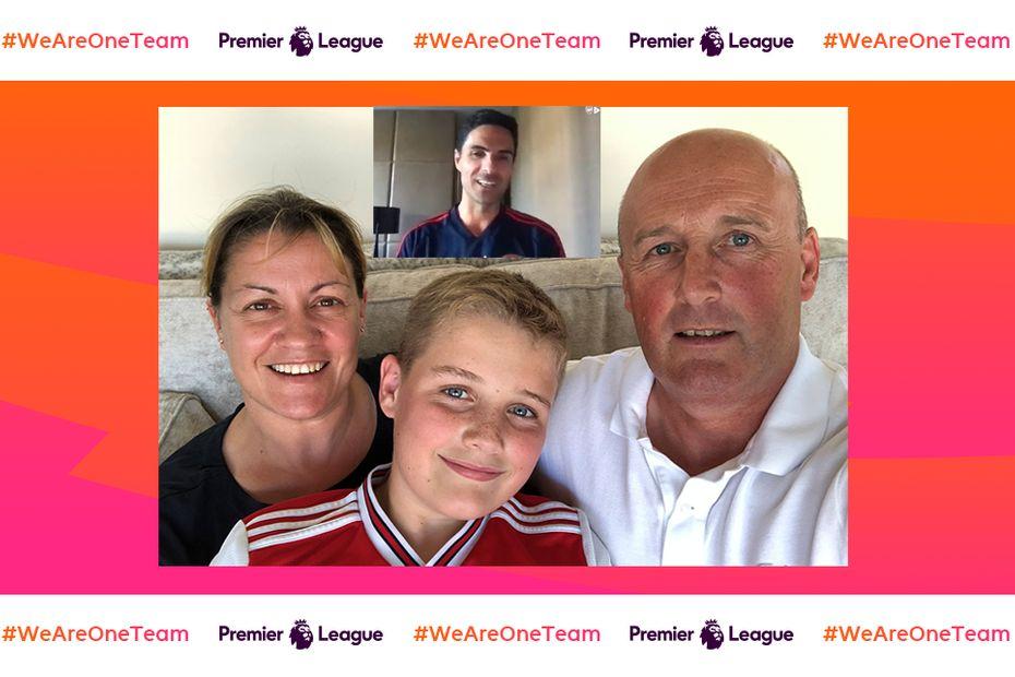 Burton family, Arsenal v2
