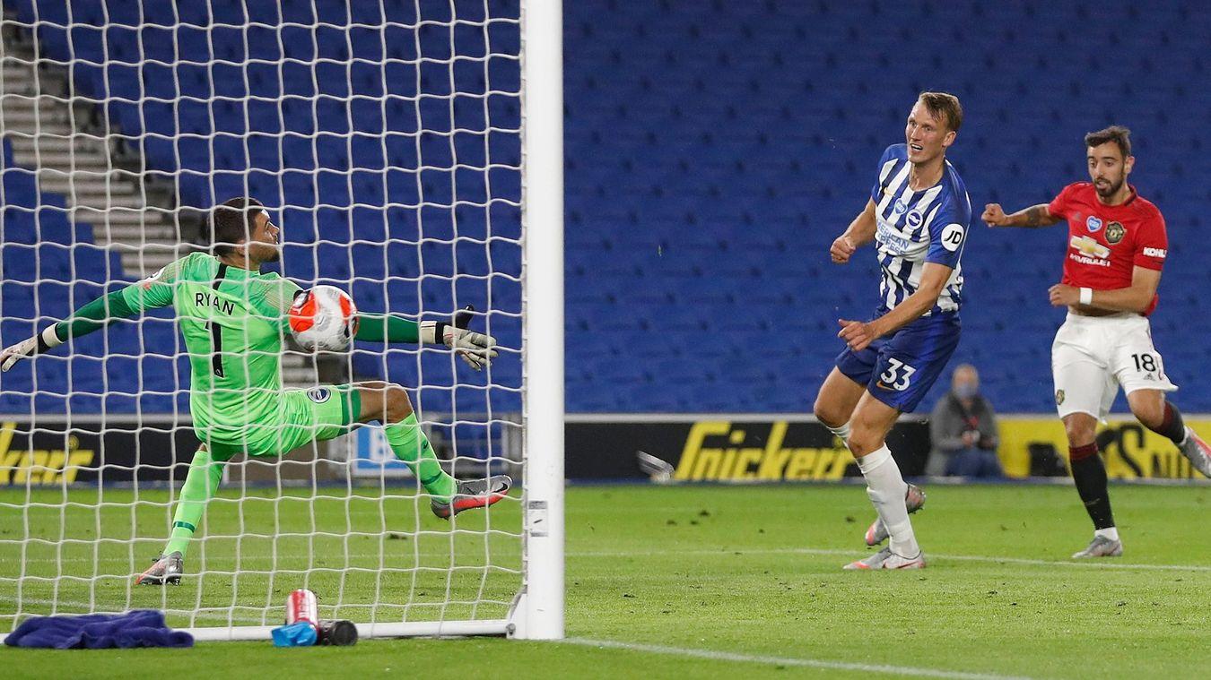 Brighton & Hove Albion 0-3 Manchester United
