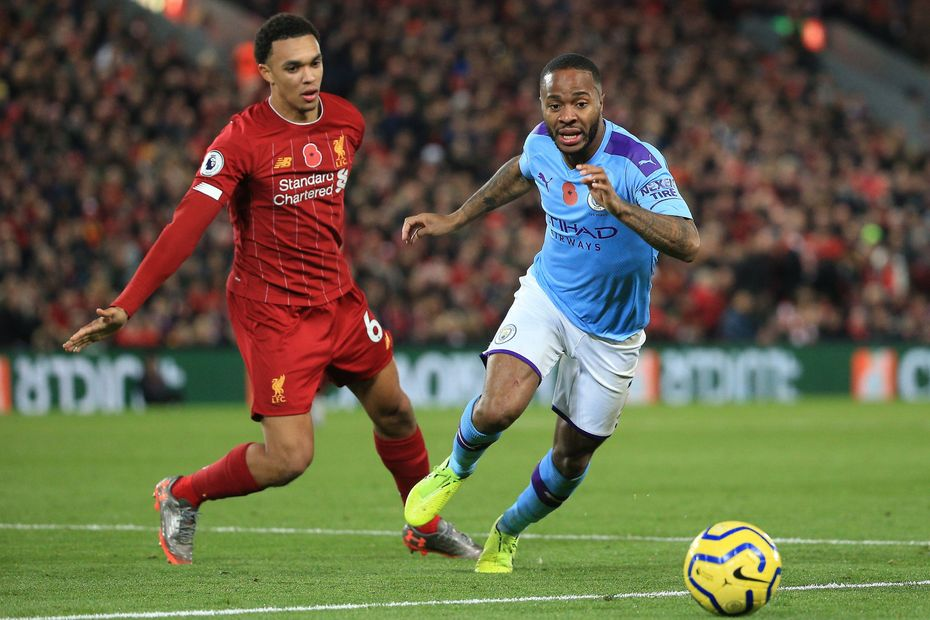Raheem Sterling v Liverpool