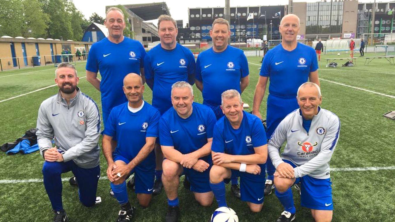 Chelsea Walking Football team