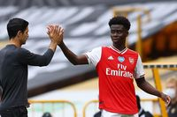 Cole: Saka won't ever forget this week