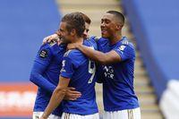 Vardy joins Premier League's 100 Club