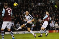 Watch Elliott's guided volley for Burnley against Fulham