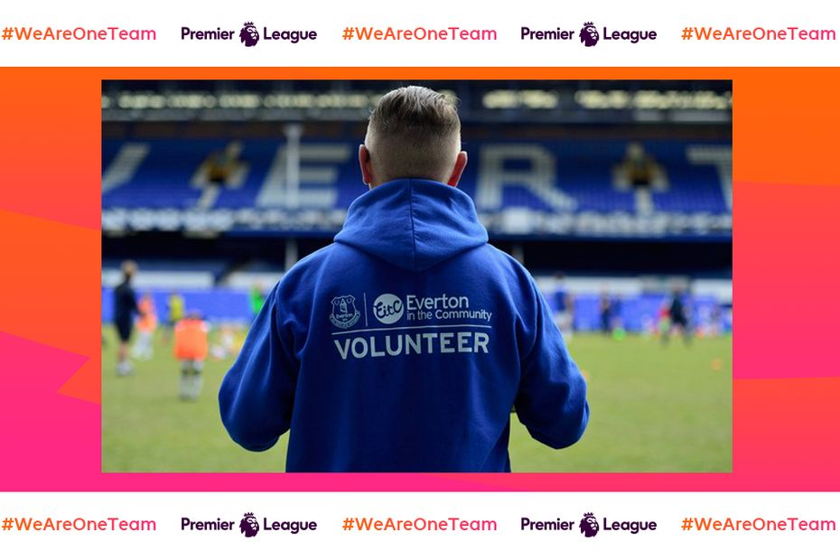 Everton in the Community, We Are One Team