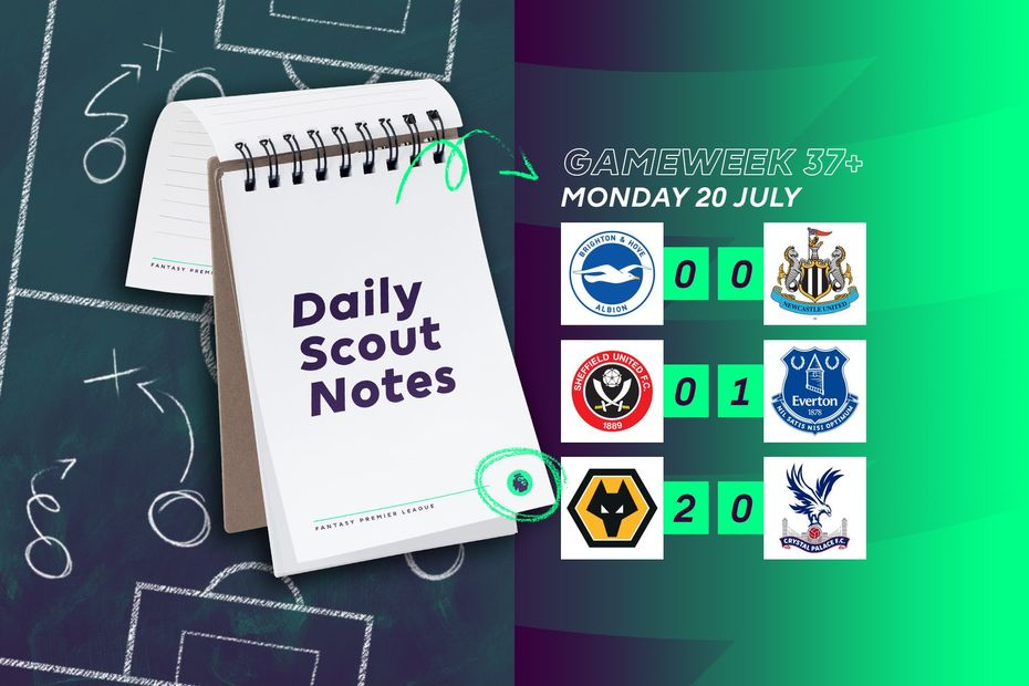 Daily Scout Notes, Monday 20 July
