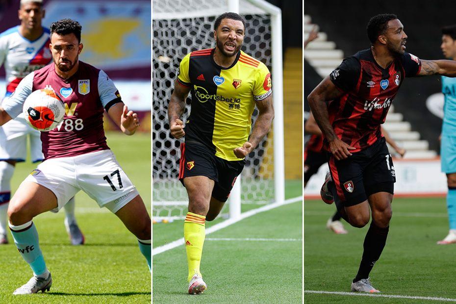 Aston Villa, Watford, AFC Bournemouth composite