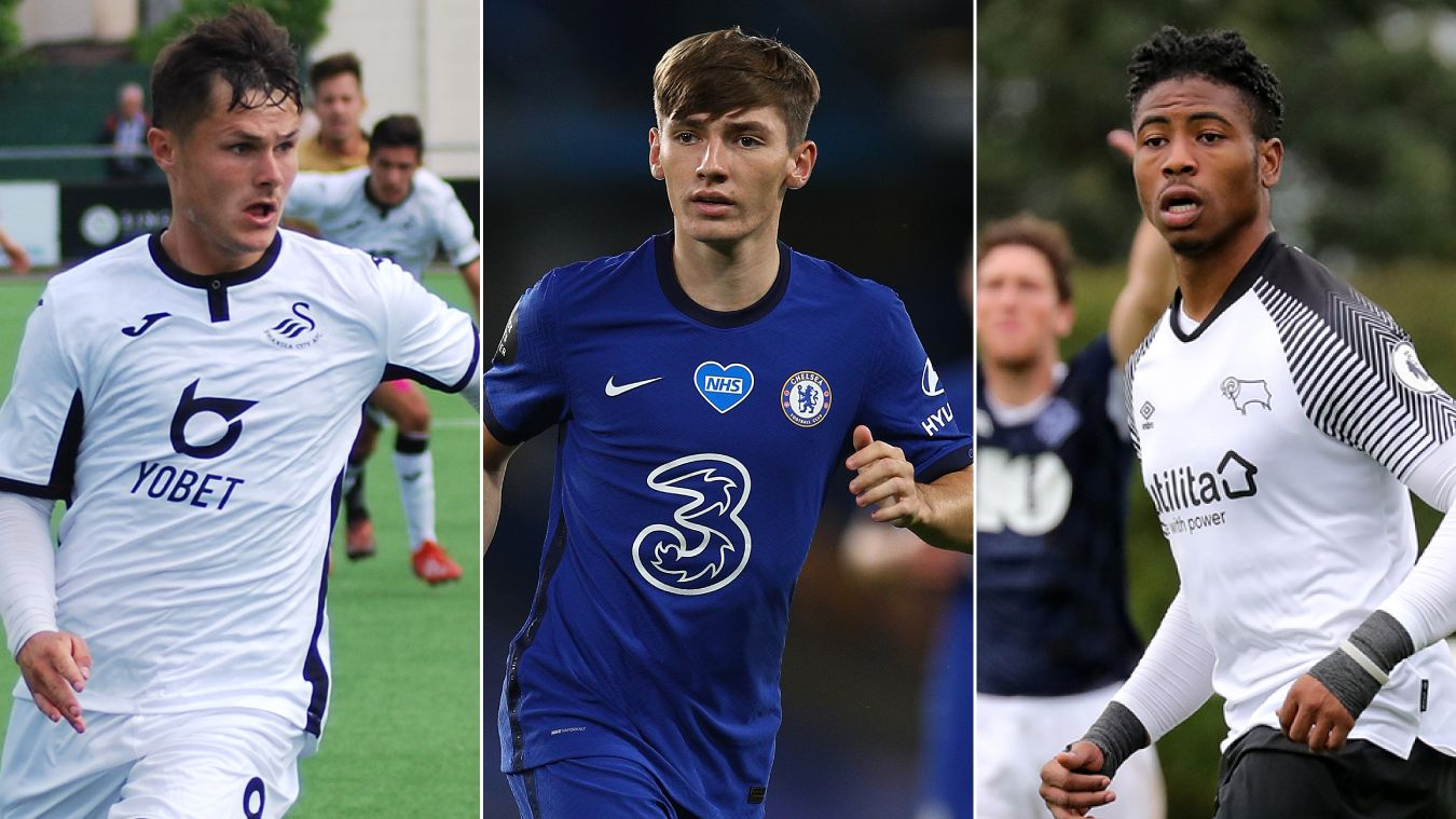 Left to right: Liam Cullen, Billy Gilmour, Jahmal Hector-Ingram