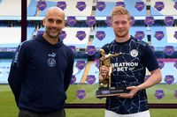 De Bruyne wins Playmaker Award with 20 assists