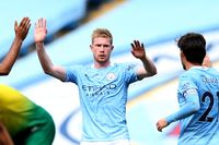 De Bruyne joins Henry as a king of PL assists
