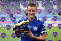 Jamie Vardy wins 2019/20 Golden Boot award