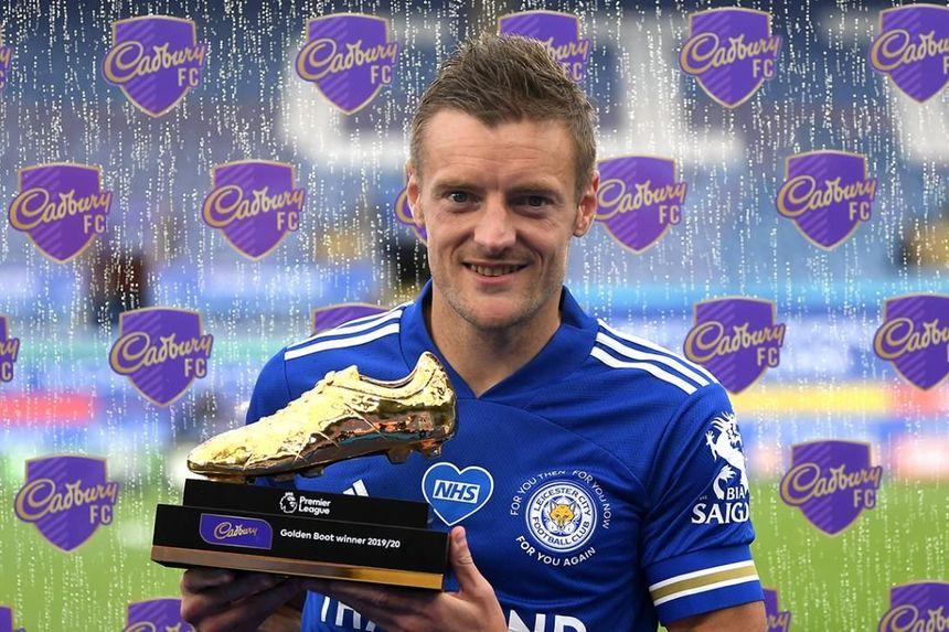 Jamie Vardy wins 2019/20 Golden Boot award