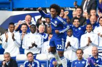 Watch Willian's pinpoint free-kick for Chelsea v Southampton