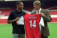 Flashback: Henry moves to Arsenal