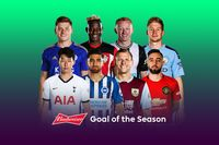 Watch the Budweiser Goal of the Season contenders
