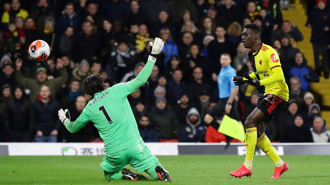 Ismaïla Sarr, Watford goal in 2019/20