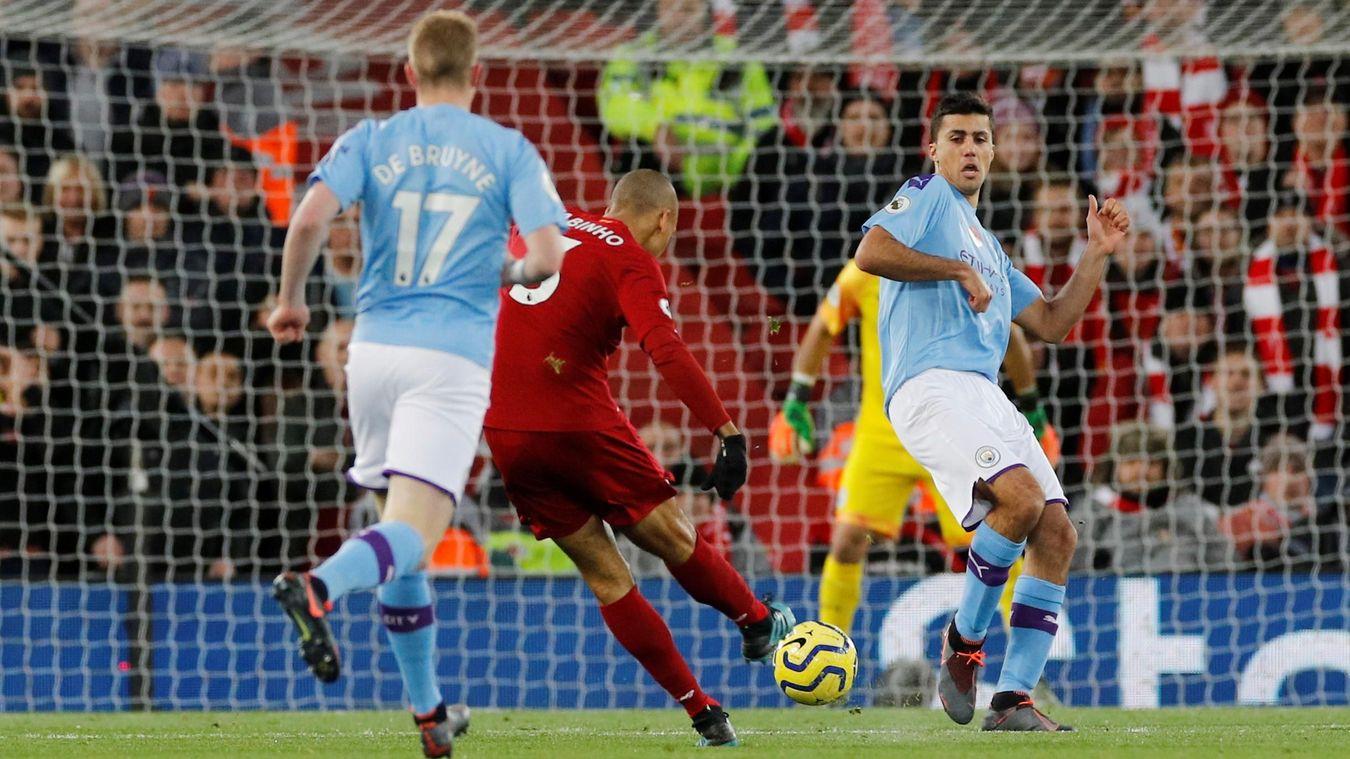 Fabinho, Liverpool goal in 2019/20
